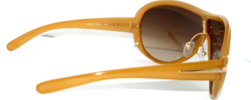 prada sonnenbrille spr07h braun gold shild damen brille. Black Bedroom Furniture Sets. Home Design Ideas